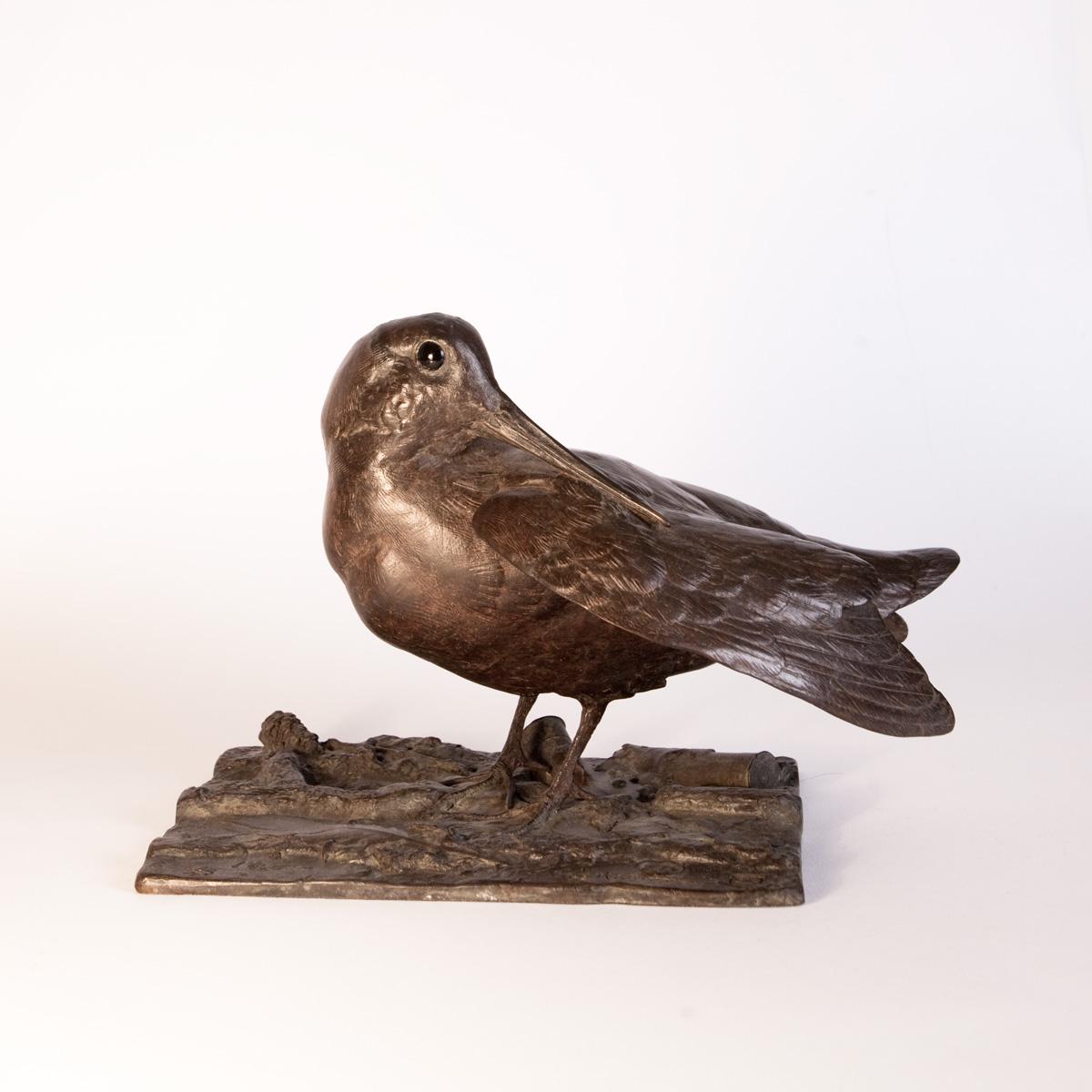 Woodcock Sculpture
